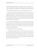 MỘT SỐ GIẢI PHÁP HOÀN THIỆN CÔNG TÁC QUẢN LÝ TIỀN LƯƠNG TẠI CÔNG TY CỔ PHẤN XÂY DỰNG SỐ 12