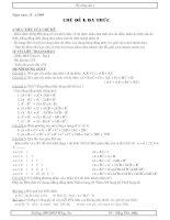 Tự chọn toán 8 phần 1