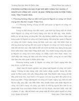 PHƯƠNG HƯỚNG VÀ GIẢI PHÁP ĐỔI MỚI CÔNG TÁC QUẢN LÝ NGƯỜI CÓ CÔNG VỚI  CÁCH  M ẠNG TRÊN ĐỊA BÀN HUYỆN THIỆU HOÁ, TỈNH THANH HOÁ