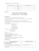 Unit 6: Competitions