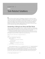 Text-Related Solutions