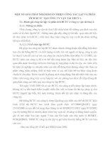 MỘT SỐ GIẢI PHÁP NHẰM HOÀN THIỆN CÔNG TÁC LẬP VÀ PHÂN TÍCH BCTC TẠI CÔNG TY VẬN TẢI THUỶ I