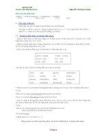 Giáo trình Toefl - Chủ ngữ (subject)