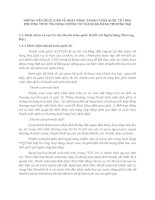 NHỮNG VẤN ĐỀ LÝ LUẬN VỀ HOẠT ĐỘNG THANH TOÁN QUỐC TẾ THEO PHƯƠNG THỨC TÍN DỤNG CHỨNG TỪ CỦA NGÂN HÀNG THƯƠNG MẠI