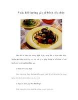 9 câu hỏi thường gặp về bệnh tiêu chảy