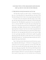 GIẢI PHÁP TĂNG CƯỜNG HOẠT ĐỘNG KINH DOANH THẺ TẠI TRUNG TÂM THẺ TECHCOMBANK