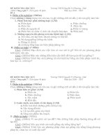 kiểm tra 1 tiết môn công nghệ 7