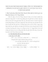 MỘT SỐ GIẢI PHÁP NHẰM HOÀN THIỆN CÔNG TÁC THẨM ĐỊNH TÀI CHÍNH DỰ ÁN XÂY DỰNG KHU CHUNG CƯ CAO TẦNG CAO CẤP 15 -17 PHỐ NGỌC KHÁNH