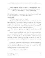 HOÀN THIỆN KẾ TOÁN DOANH THU CHI PHÍ VÀ XÁC ĐỊNH KẾT QUẢ KINH DOANH TẠI CÔNG TY TNHH SẢN XUẤT XUẤT NHẬP KHẨU DỊCH VỤ VÀ ĐẦU TƯ VIỆT THÁI