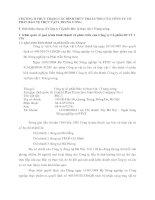 CHƯƠNG II THỰC TRẠNG CÁC HÌNH THỨC TRẢ LƯƠNG CỦA CÔNG TY CỔ PHẦN BẢO VỆ THỰC VẬT 1 TRUNG ƯƠNG