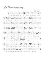 Bài hát cô tấm ngày nay - Ngọc Châu (lời bài hát có nốt)
