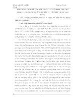 TÌNH HÌNH THƯC TẾ TỔ CHỨC CÔNG TÁC KẾ TOÁN VẬT LIỆU CÔNG CỤ DỤNG CỤ Ở CÔNG TY ĐẦU TƯ VÀ PHÁT TRIỂN NAM HỒNG
