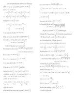Giới thiệu một số bài toán ôn thi Đại học về tam giác
