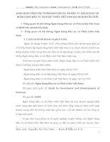 KHÁI QUÁT CÔNG TÁC THẨM ĐỊNH CÁC DỰ ÁN ĐẦU TƯ NÓI CHUNG TẠI NGÂN HÀNG ĐẦU TƯ VÀ PHÁT TRIỂN VIỆT NAM CHI NHÁNH CẦU GIẤY