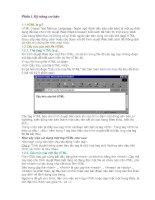 Tài liệu HTML căn bản Phần 1