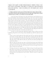NHẬN XÉT KIẾN NGHỊ NHẰM HOÀN THIỆN CÔNG TÁC KẾ TOÁN TẬP HỢP  CHI PHÍ VÀ TÍNH GIÁ THÀNH KINH DOANH BUỒNG  NGỦ Ở CÔNG TY CỔ PHẦN DU LỊCH NAM ĐỊNH