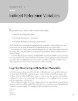 Indirect Reference Variables