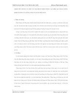 NHẬN XÉT CHUNG VÀ MỘT SỐ GIẢI PHÁP NHẰM NÂNG CAO HIỆU QUẢ HOẠT ĐỘNG KINH DOANH CỦA TỔNG CÔNG TY SÁCH VIỆT NAM