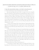 MỘT SỐ GIẢI PHÁP NHẰM ĐẨY MẠNH HOẠT ĐỘNG BÁN HÀNG Ở CÔNG TY CP THƯƠNG MẠI Thêng TÝn TRONG THỜI GIAN TỚI.