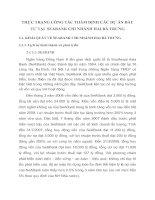 THỰC TRẠNG CÔNG TÁC THẨM ĐỊNH CÁC DỰ ÁN ĐẦU TƯ TẠI  SEABANK CHI NHÁNH HAI BÀ TRƯNG