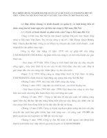 ĐẶC ĐIỂM CHUNG VỀ KINH DOANH, QUẢN LÝ VÀ KẾ TOÁN CÓ ẢNH HƯỞNG ĐẾN TỔ CHỨC CÔNG TÁC KẾ TOÁN NGUYÊN VẬT LIỆU TẠI CÔNG TY DỆT MAY HÀ NỘI