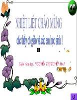 T5 LT BANG DON VI DO DO DAI, KHOI LUONG