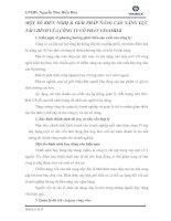 MỘT SỐ KIẾN NGHỊ & GIẢI PHÁP NÂNG CAO NĂNG LỰC TÀI CHÍNH CỦA CÔNG TY CỔ PHẦN VINAMILK