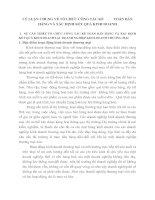 LÝ LUẬN CHUNG VỀ TỔ CHỨC CÔNG TÁC KẾ           TOÁN BÁN HÀNG VÀ XÁC ĐỊNH KẾT QUẢ KINH DOANH
