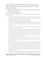 MỘT SỐ GIẢI PHÁP NHẰM NÂNG CAO HIỆU QUẢ CÔNG TÁC TUYỂN DỤNG VÀ TRẢ LƯƠNG TẠI CÔNG TY TNHH KONDO VIỆT NAM