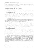 GIỚI THIỆU SƠ LƯỢC VỀ CÔNG TY NÔNG SẢN THỰC PHẨM XUẤT KHẨU CẦN THƠ MEKONIMEX NS