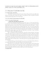 CƠ SỞ LÝ LUẬN VỀ XUẤT KHẨU TRỰC TIẾP VÀ TÌNH HÌNH XUẤT KHẨU GẠO CỦA VIỆT NAM HIỆN NAY