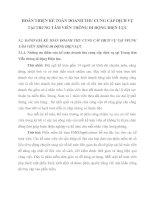 HOÀN THIỆN KẾ TOÁN DOANH THU CUNG CẤP DỊCH VỤ TẠI TRUNG TÂM VIỄN THÔNG DI ĐỘNG ĐIỆN LỰC