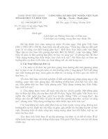 Công văn số 1446/SGDĐT-VP ngày 15/10/2010 của Sở GD&ĐT Tiền Giang V/v