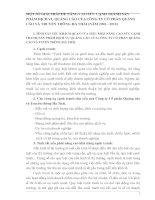MỘT SỐ GIẢI PHÁP ĐỂ NÂNG CAO SỨC CẠNH TRANH SẢN PHẨM DỊCH VỤ QUẢNG CÁO CỦA CÔNG TY CỔ PHẦN QUẢNG CÁO VÀ TRUYỀN THÔNG HÀ THÁI