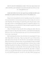 PHƯƠNG HƯỚNG NHẰM HOÀN THIỆN CÔNG TÁC HẠCH TOÁN TẬP HỢP CHI PHÍ VÀ XÁC ĐỊNH KẾT QUẢ KINH DOANH TẠI CÔNG TY VẬT TƯ  TỔNG HỢP HÀ TÂY