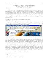 Internet và Khai thác thông tin