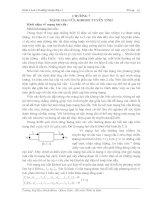 Mạng hai cửa Kirhof tuyến tính_chương 7