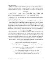 NHỮNG LÝ LUẬN VỀ HẠCH TOÁN TIÊU THỤ VÀ XÁC ĐỊNH KẾT QUẢ TIÊU THỤ TRONG DOANH NGHIỆP SẢN XUẤT SỬ DỤNG PHƯƠNG PHÁP KÊ KHAI THƯỜNG XUYÊN VÀ TÍNH THUẾ GTGT THEO PHƯƠNG PHÁP KHẤU TRỪ