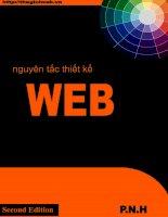 Nguyên tắc thiết kế web
