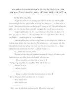 ĐẶC ĐIỂM SẢN PHẨM TỔ CHỨC SẢN XUẤT VÀ QUẢN LÝ CHI               PHÍ TẠI CÔNG TY TRÁCH NHIỆM HỮU HẠN THIÊN PHÚ CƯỜNG
