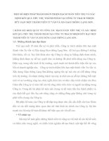MỘT SỐ BIỆN PHÁP NHẰM HOÀN THIỆN HẠCH TOÁN TIÊU THỤ VÀ XÁC ĐỊNH KẾT QUẢ TIÊU THỤ THÀNH PHẨM TẠI CÔNG TY TRÁCH NHIỆM HỮU HẠN MỘT THÀNH VIÊN TƯ VẤN VÀ XD GIAO THÔNG LẠNG SƠN