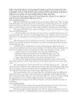 MỘT SỐ GIẢI PHÁP  NHẰM HOÀN THIỆN KẾ TOÁN DOANH THU - CHI PHÍ VÀ XÁC ĐỊNH KẾT QUẢ HOẠT ĐỘNG KINH DOANH BẢO HIỂM TẠI CÔNG TY BẢO HIỂM NHÂN THỌ HÀ NỘI.