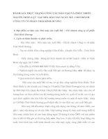 ĐÁNH GIÁ THỰC TRẠNG CÔNG TÁC ĐÀO TẠO VÀ PHÁT TRIỂN NGUỒN NHÂN LỰC TẠI NHÀ MÁY SẢN XUẤT MỲ
