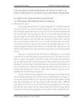CÁC GIẢI PHÁP VÀ KIẾN NGHỊ NHẰM GIỮ VỮNG VÀ NÂNG CAO CHẤT LƯỢNG DỊCH VỤ TẠI KHÁCH SẠN CÔNG ĐOÀN THANH BÌNH
