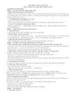 ĐỀ CƯƠNG ÔN TÂP HK1 LỚP 9