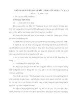 PHƯƠNG PHÁP ĐÁNH GIÁ CHẤT LƯỢNG TÍN DỤNG CỦA NGÂN HÀNG THƯƠNG MẠI