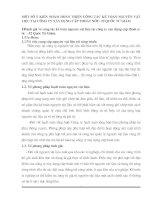 MỘT SỐ Ý KIẾN NHẰM HOÀN THIỆN CÔNG TÁC KẾ TOÁN NGUYÊN VẬT LIỆU TẠI CÔNG TY XÂY DỰNG CẤP THOÁT NƯỚC- 52 QUỐC TỬ GIÁM