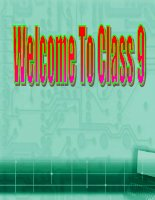 Unit 5 Class 9 - Read