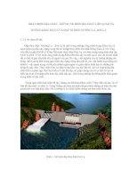 Hoạt động địa chất, những tai biến địa chất liên quan và hướng khắc phục của đạp thủy điện Mường La- Sơn La