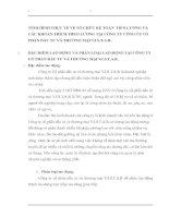 TÌNH HÌNH THỰC TẾ VỀ TỔ CHỨC KẾ TOÁN  TIỀN LƯƠNG VÀ CÁC KHOẢN TRÍCH THEO LƯƠNG TẠI CÔNG TY CÔNG TY CỔ PHẦN ĐẦU TƯ VÀ THƯƠNG MẠI V.I.S.T.A.R